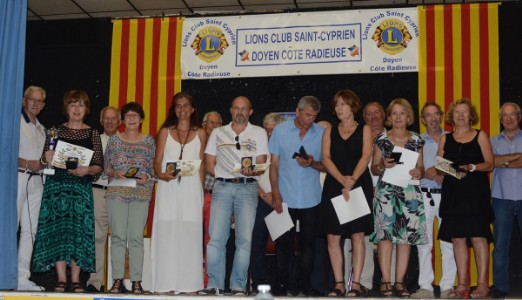 Vernissage 19e Symposium Catalan des Arts - Lions Club Saint-Cyprien Doyen