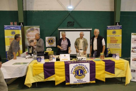 Forum des associations 2017 à Saint-Cyprien - Lions Club Saint-Cyprien Doyen