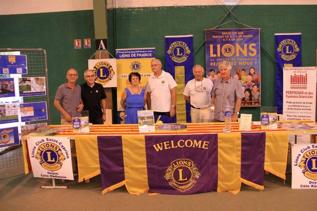 Forum des associations Saint-Cyprien - Lions Club Saint-Cyprien Doyen - septembre 2018