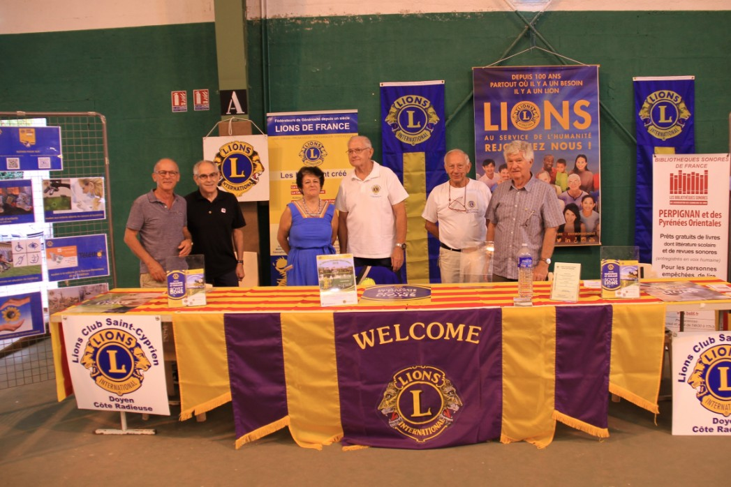 Forum des associations -Saint-Cyprien - Lions Club Saint-Cyprien Doyen - 9 septembre 2018