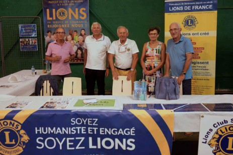 Forum des association à Saint-Cyprien - 8 septembre 2019 - Lions Club